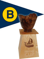 BYC Burgee with Trophy